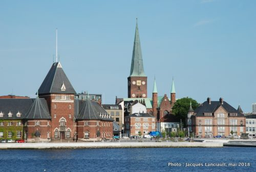 Aarhus vue du port, Aarhus, Danemark