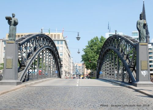 Brooks-Brücke, Hambourg, Allemagne
