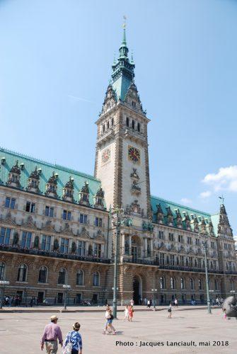 Hôtel de Ville, Hambourg, Allemagne