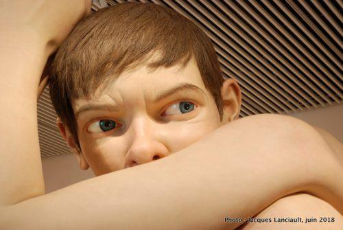Boy, Ron Mueck, Musée des arts d'Aarhus, Danemark