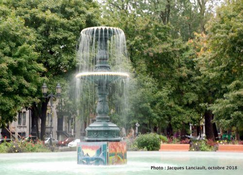 Fontaine du carré Saint-Louis, Montréal, Québec