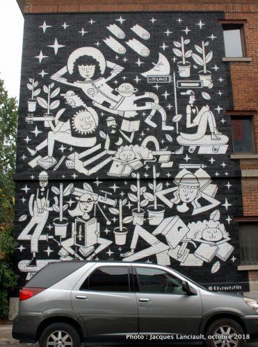Rêveries, Le Monstr, Carré Saint-Louis, Montréal, Québec