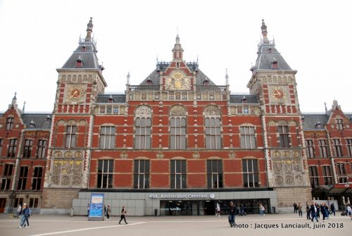 Centraal Station, Amsterdam, Pays-Bas