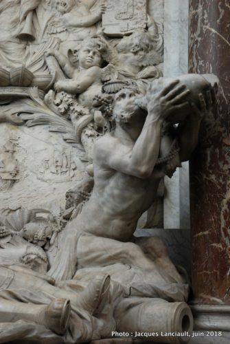 Monument Michiel de Ruyter, Nieuwe Kerk, Amsterdam, Pays-Bas