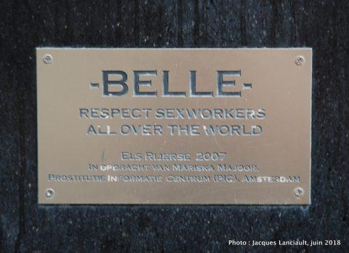 Belle, Oudekerksplein, Amsterdam, Pays-Bas
