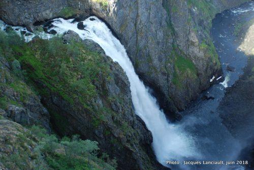 Cascade Vøringsfossen, Eidfjord, Norvège