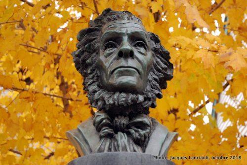 Buste de Cornelius Krieghoff, Grande Allée, Québec
