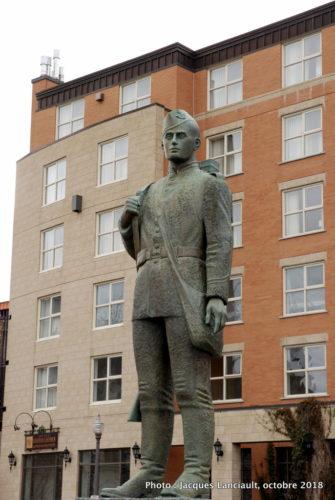 Monument aux Voltigeurs de Québec, place George V, Québec