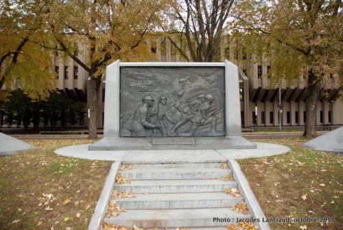 Monument Je me souviens, Québec