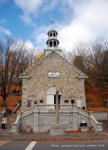 Chapelle commémorative, sanctuaire de Sainte-Anne-de-Beaupré, Québec
