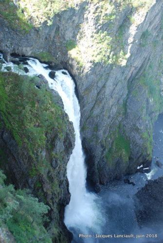 Cascade de Vøringsfossen, Eidfjord, Norvège