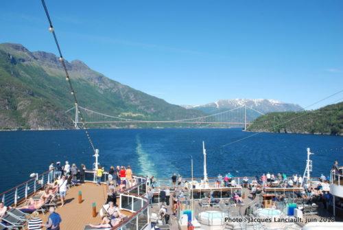 Fjord Eid, Eidfjord, Norvège