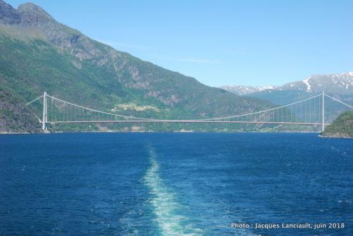 Pont Hardanger, Fjord Eid, Norvège