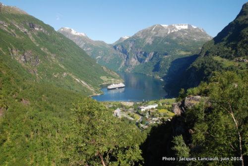 Geiranger Skywalk, Geiranger, Norvège