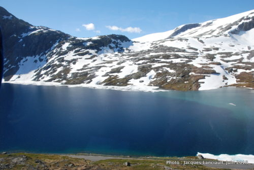 Lac Djupvatnet, Geiranger, Norvège