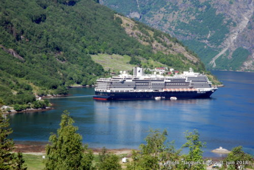 Cascade Storfossen, Geiranger, Norvège