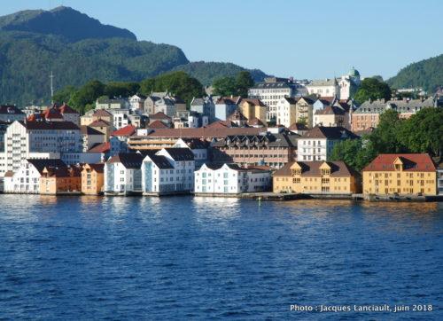 Port de Bryggen, Bergen, Norvège