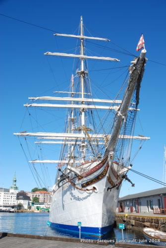 Staatsraad Lehmkuhl, Bryggen, Bergen Norvège