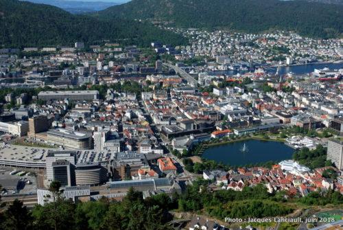 Mont Fløyen, Bergen, Norvège