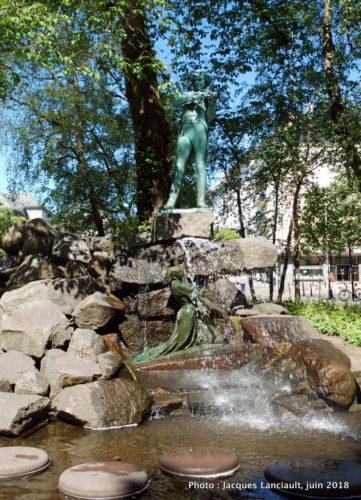 Monument à Ole Bull, Bergen, Norvège