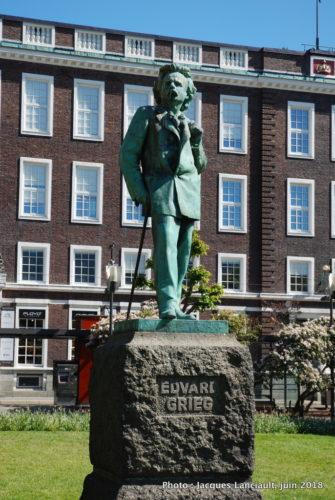 Edvar Grieg, Bergen Norvège