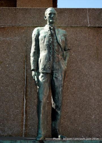 Monument aux marins, Bergen, Norvège