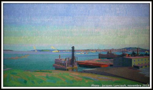 Port d'Halifax1918, Musée des beaux-arts du Canada, Ottawa, Ontario