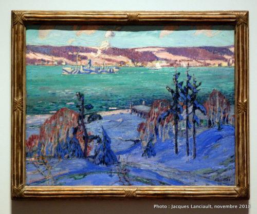 Camouflage d'hiver, Musée des beaux-arts du Canada, Ottawa, Ontario