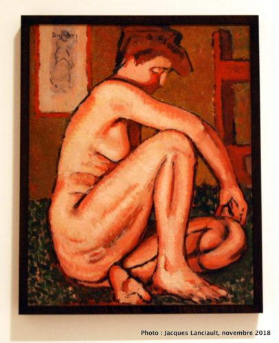 Nu rouge, Musée des beaux-arts du Canada, Ottawa, Ontario
