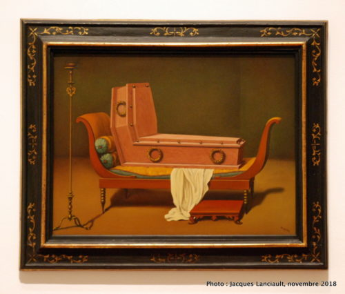 Perspective, Madame Recamier de David, Musée des beaux-arts du Canada, Ottawa, Ontario