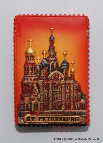 L'église du Sauveur sur-le-sang-versé, St-Pétersbourg