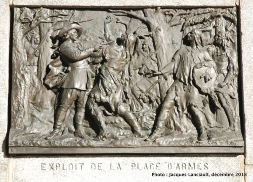 Monument à Maisonneuve, Montréal, Québec