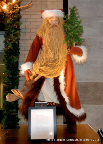 Le père des glaces, parcours des pères Noël du Centre de commerce mondial de Montréal