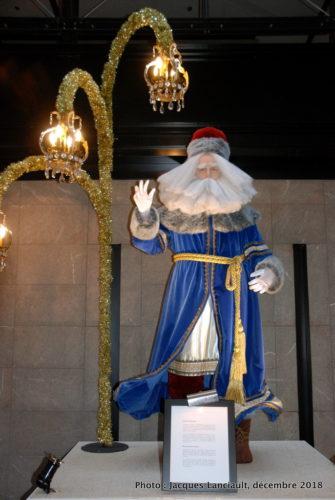 Saint-Nicolas russe, parcours des pères Noël du Centre de commerce mondial de Montréal