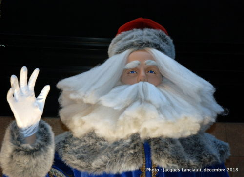 Saint Nicolas russe, parcours des pères Noël du Centre de commerce mondial de Montréal