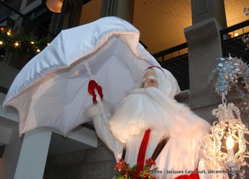 Père Noël bavarois, parcours des pères Noël du Centre de commerce mondial de Montréal