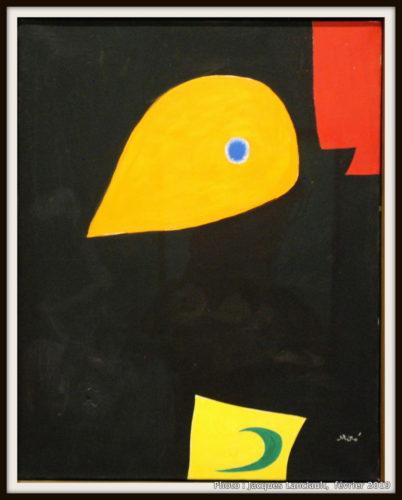 Tête, Joan Miró