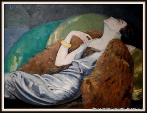 La femme au canapé, Kees van Dongen