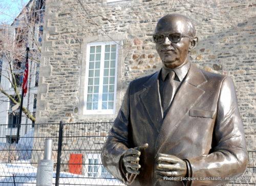 Monument à Jean Drapeau, Annick Bourgeau, Montréal, Québec