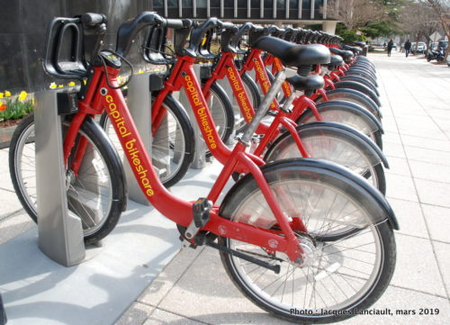 Capital Bikeshare, Washington D.C., États-Unis