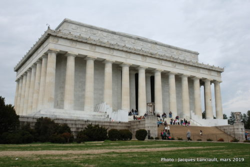 Lincoln Memorial, Washington D.C., États-Unis