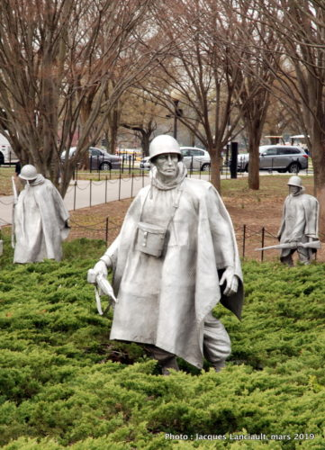 Korean War Veterans Memorial, Washington D.C., États-Unis