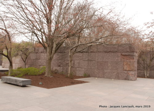Franklin Delano Roosevelt Memorial, Washington D.C., États-Unis