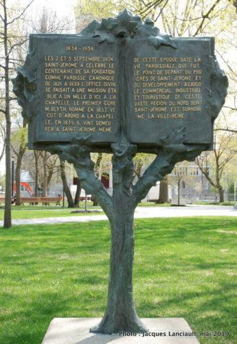 Place du Curé-Labelle, Alfred Laliberté, place Curé-Labelle, Saint-Jérôme, Québec