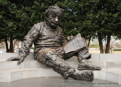 Albert Einstein Memorial, Washington D.C., États-Unis