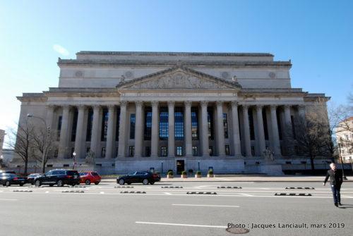 Archives of the United of America, Washington D. C, États-Unis