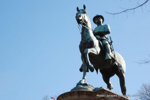 Monument au Général Winfield Scott Hancock, Washington D. C, États-Unis