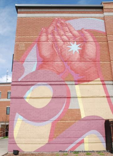 Donner c'est recevoir, recevoir c'est donner, Kevin Ledo, Saint-Jérôme, Québec
