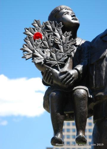 Monument honorant des Canadiens morts en service, Ottawa, Ontario