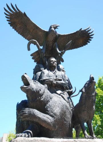 Monument national aux anciens combattants autochtones, Ottawa, Ontario